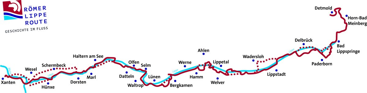 Romer Lippe Route Parklandschaft Kreis Warendorf